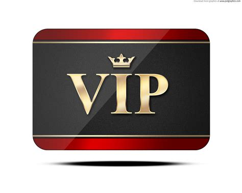 vip card psd psdgraphics