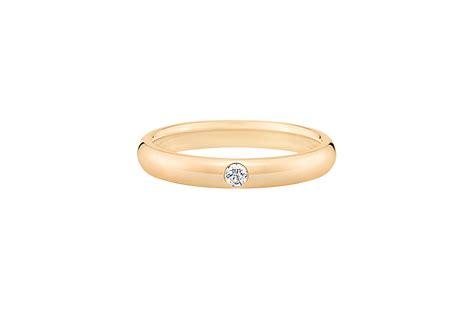 Single Wedding Ring by Brilliant Single Wedding Band Harry Winston