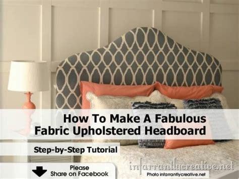 how to make headboard how to make a headboard home decor