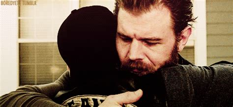 sons of anarchy jax opie juice sack we are young sons of anarchy season 7 series finale quot papa s goods quot tv