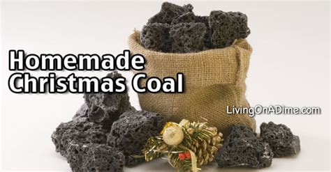 homemade christmas coal recipe living   dime