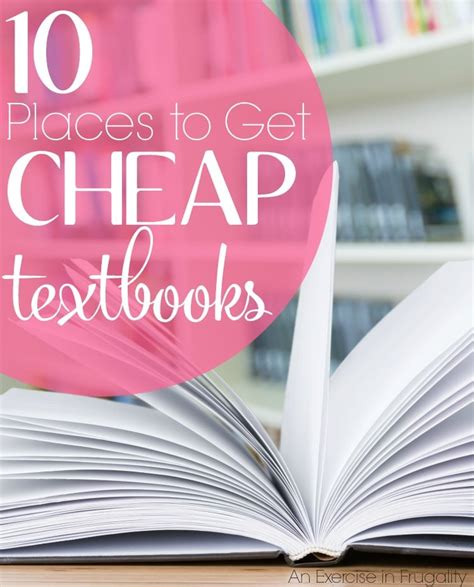 where to buy cheap textbooks an exercise in frugality