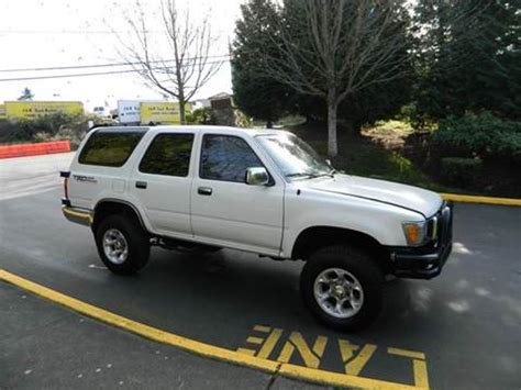 1991 toyota for sale 1991 toyota 4runner for sale carsforsale