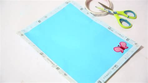How To Make A Paper File Folder At Home - how to make a paper folder 10 steps with pictures wikihow