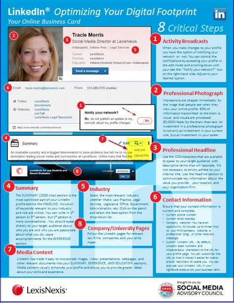12 Tips On How To Create A Profile by Optimizing Your Linkedin Footprint 8 Critical Tips For