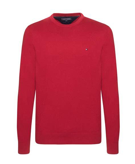 Sweater Hilfiger Hilfiger Pima Cotton Crew Neck Sweater In