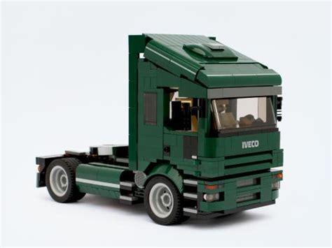 lego truck lego moc 5127 iveco truck creator 2015 rebrickable