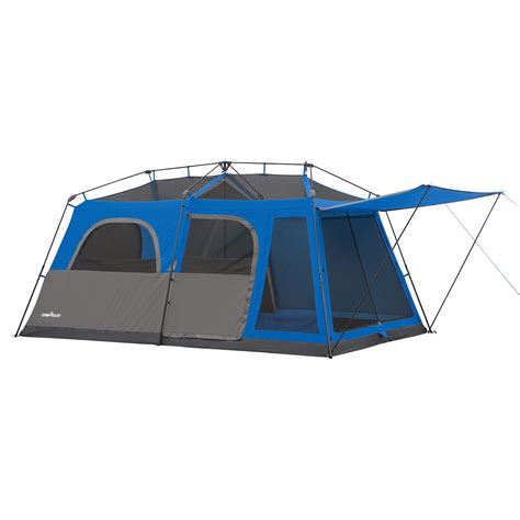 Instant Cabin Tent by Cvalley 9 Person Instant Cabin Tent Blue Ebay