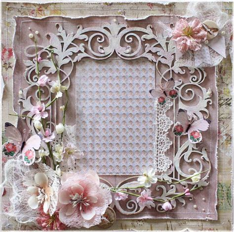 premade 12x12 shabby chic scrapbook layout by littlescrapshop scrapbooking pages pinterest