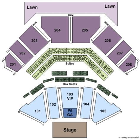 tinley park concert seating chart casino hitheatre tickets in tinley park