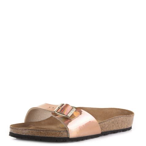 Moda Mio Gold Shoes New With Box womens birkenstock madrid mirror gold mule slip on