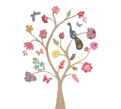 Liberty Tree Of Life Sewing Pattern Tree Sewing Template