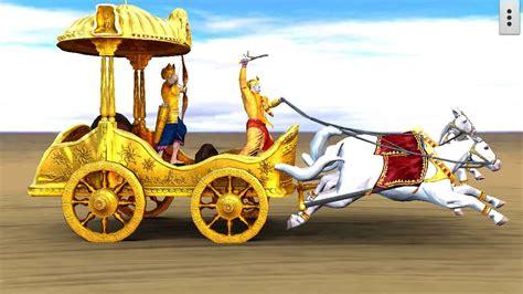 Mahabharat Live Wallpaper by 3d Krishna Arjuna Rath Live Wallpaper 2 3 Apk