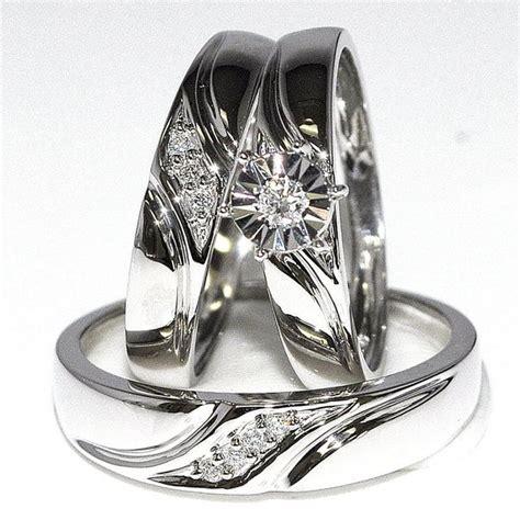 wedding ring sets cheap white gold wedding ring 18 carat