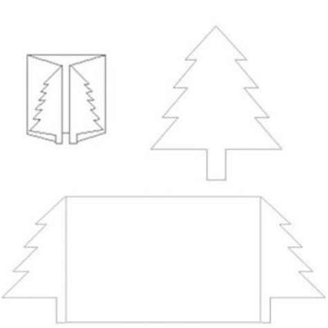 Tree Template For Cards Christmas Tree Card Template Printable Template Tip Junkie