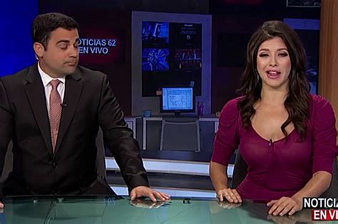 news reporter with hard nipples world news sexy news reporter accidentally flashes nipples on live tv