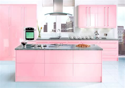 neopolitan pink kitchen