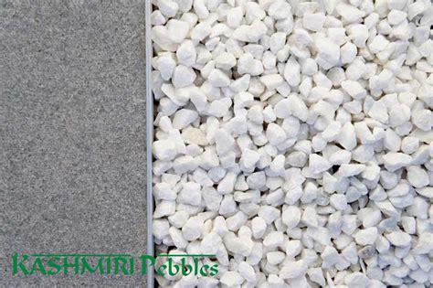 White Gravel Crushed White Gravel Polished Pebbles Decorative