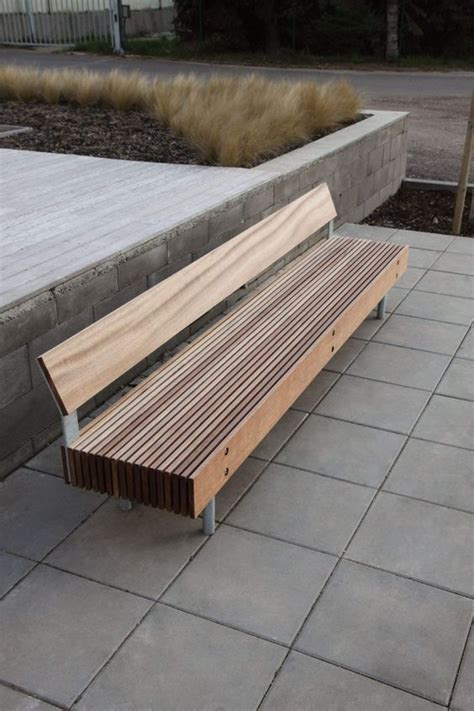 Landscape Timber Bench Plans 261 Best Images About Furniture Benches Chairs