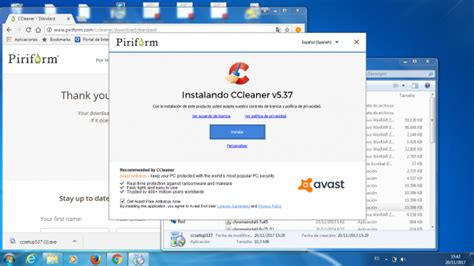 ccleaner installer avast antivirus installs with ccleaner on your pc if you