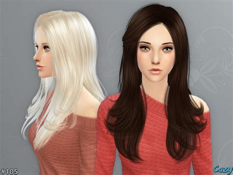 hairstyles download sims 4 cazy s starlight hairstyle sims 4