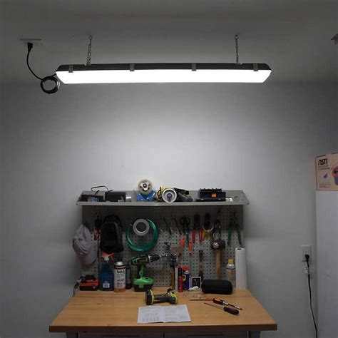 costco motion sensor light winplus 45 led shop utility garage light with motion sensor by winplus ebay
