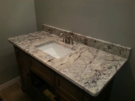 Pictures Of Kitchen Backsplashes With Granite Countertops by Bathroom Countertops Edmonton Stoneworks Granite Amp Quartz