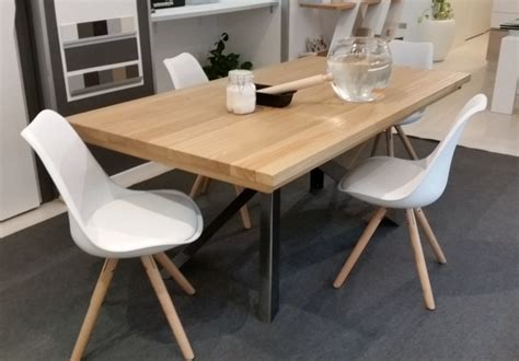 tavoli in legno massiccio tavolo allungabile e 4 sedie altacorte sconto 47 tavoli