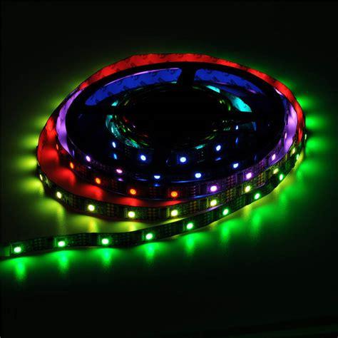 5v led lights 5v ws2801 32 ic 5050 led pixel lights ip67 mjjcled