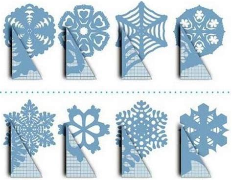 Snowflakes Out Of Paper - snowflakes paper and on