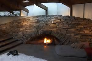 Fireplace Rock Ideas Modern Amp Unusual Fireplaces That Break The Mold Lauren Makk