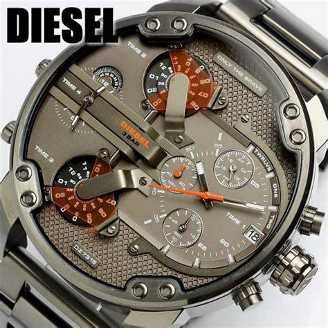 Diesel DZ7315 Mr Daddy Homme Montre Avec Bracelet En Acier Gris