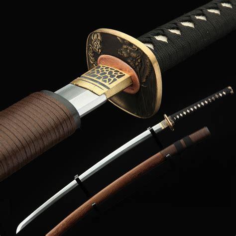 Handmade Katana From Japan - samurai sword handmade 608 pattern steel japanese katana
