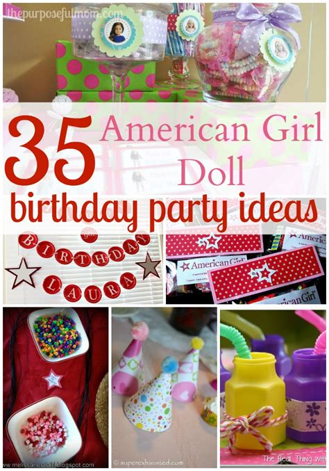 Diy Kitchen Decor Ideas Pinterest by 35 Ideas For An American Doll Themed Birthday Party