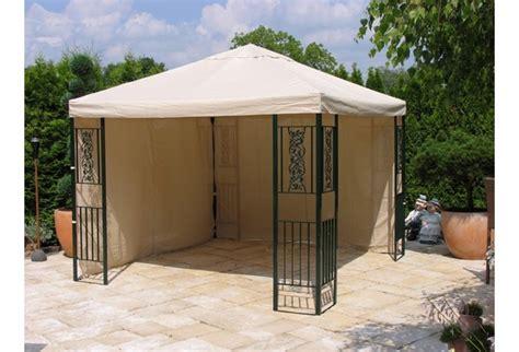 pavillon 2 mal 3 meter grasek garten pavillon roma 3x3m mit 2 seitenteile