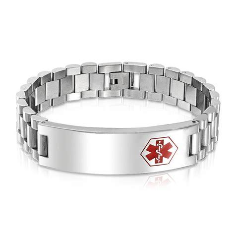 mens leather id bracelets mens id bracelets best bracelets
