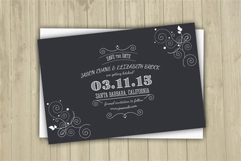 Check Out These Adorable Save The Date Templates Save The Date Template