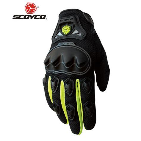 alpine motocross scoyco motorcycle gloves summer breathable wearable