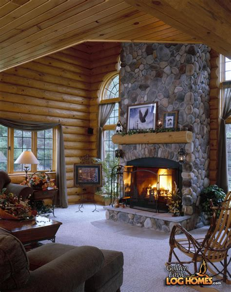 Log Home Living Rooms by Log House Package For Sale Studio Design Gallery