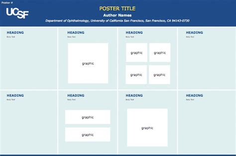 Ucsf Powerpoint Template Ucsf Ophthalmology Graphic Imaging Module Poster Printing