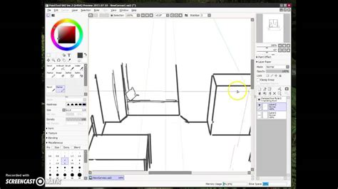 paint tool sai pen tool fast demo of paint tool sai 2