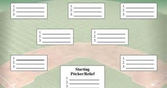 baseball depth chart template baseball depth chart similiar baseball lineup form