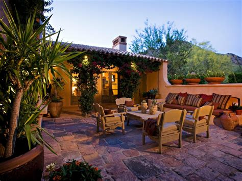 southwestern patio design ideas remodels photo page hgtv