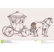 Carriage Vector Drawing Stock  Image 57456999