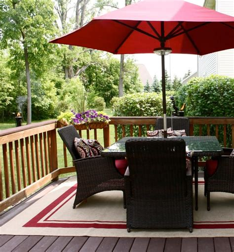 outdoor rugs for decks and patios interesting ipe decking with wood deck railing and outdoor