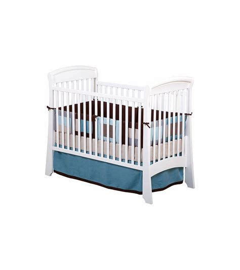Delta Crib by Delta Venetian Sleigh 3 In 1 Crib White