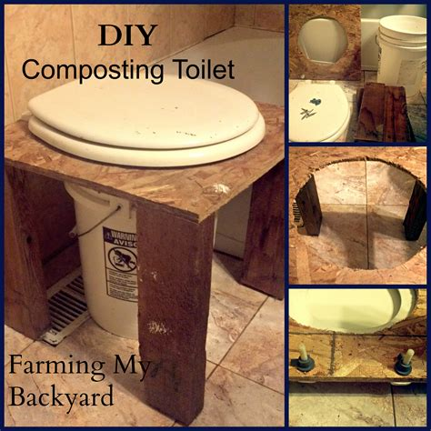 DIY Composting Toilet   Farming My Backyard