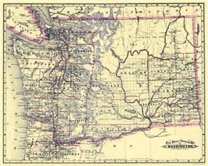 railroad maps washington wa state railroad