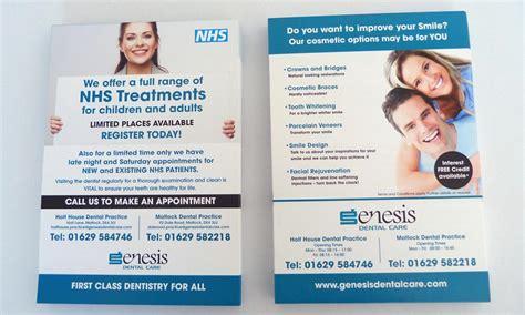 layout of patient information leaflet dental practice direct mail mail merge designer dental
