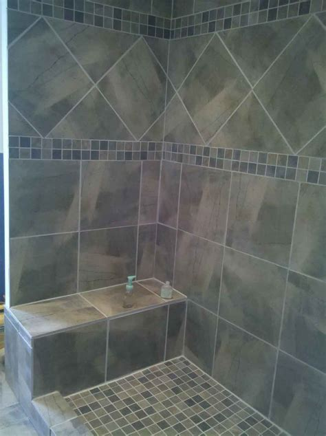 tile pattern ideas best idea shower floor tile decosee com